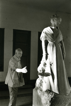 Andre Kertesz at Arles City Hall. 