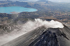 Hot Breath of the Planet. Volcanoes and Glaciers