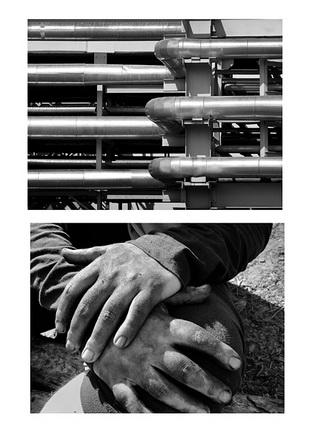 Женя Миронов. Из серии «Метафоры атомных сред». 2014