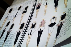 Правила скетча: Fashion Illustration