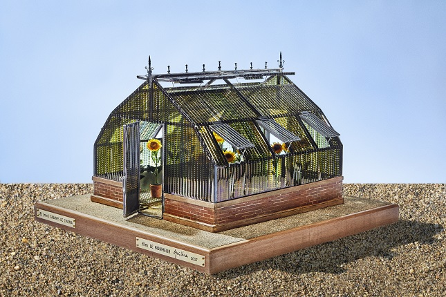 Shack of Happiness. Model by Agnès Varda (2017). From the 'Cinema Shacks » series.