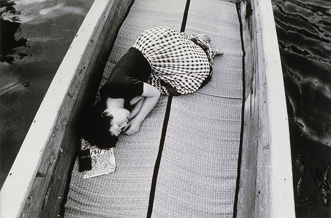 Nobuyoshi Araki. From the 'Sentimental Journey' series. 1971. Author's silver gelatin print. Collection de la Maison Européenne de la Photographie, Paris. Donation de la société Dai Nippon Printing Co. Ltd. Tokyo, Japon