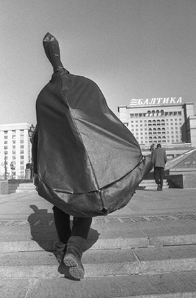 Manezhnaya square. Moscow, 2000. Silver-gelatin imprint. Private collection.