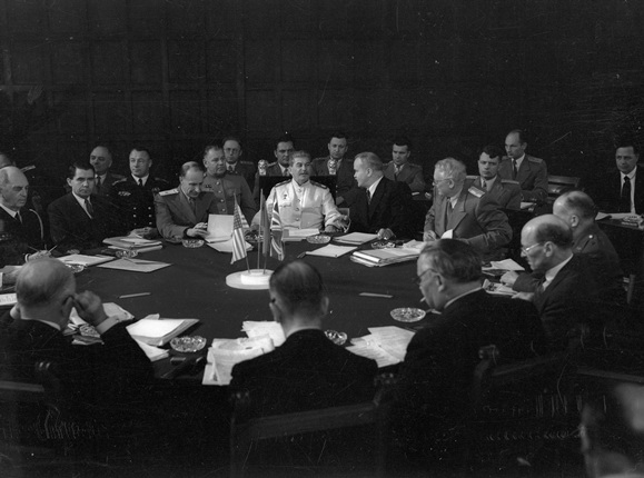 The Potsdam Conference. July. 1945