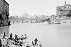 Rome in photos. Since 1850 up to now