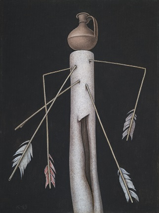Dmitry Krasnopevtsev. Still life with arrows. 1969. From the collection of the State Tretyakov Gallery