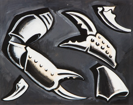 Dmitry Krasnopevtsev. Crab claws. 1960s.