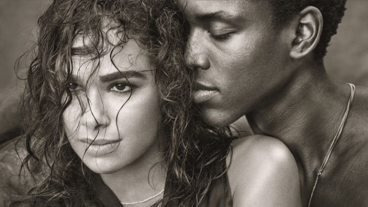 Misty Copeland and Calvin Royal III, shot by Albert Watson for the 2019 Pirelli calendar