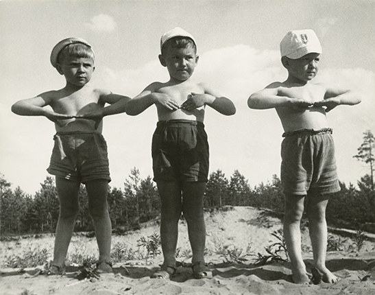 Mikhail Grachev. Kindergarten. Physical jerks